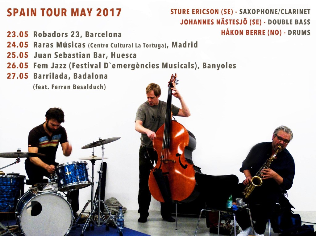 Spain tour ENB 2017